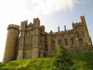 Magnificent Arundel Castle exterior