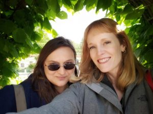 Stacy & Christina friends sharing fears, joy and irritations