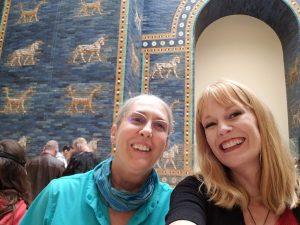 Christina and Mamacita in Berlin Pergamon Museum
