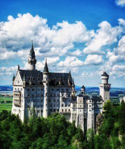 Magical Neuschwanstein castle
