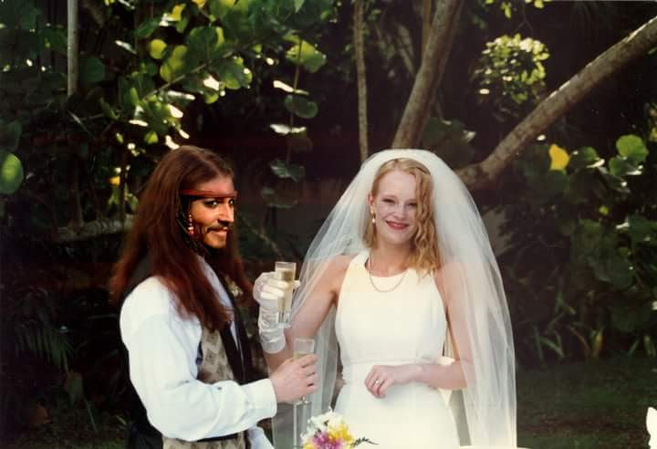 Johnny Depp Wedding in Jamaica