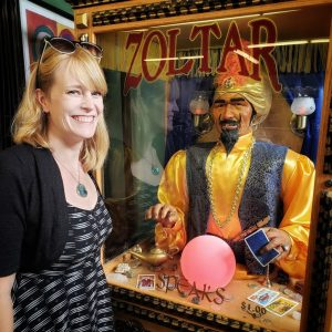 Zoltar told me my fortune. It has yet to come true, but it was fun anyway.