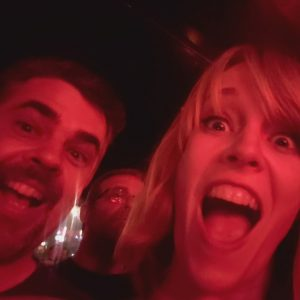 Fun times with my brother at the Electric Six concert in Portland, Oregon